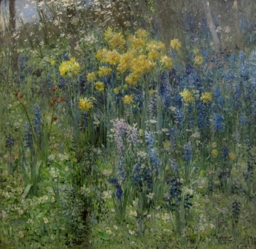 Ernest Quost Fleurs de Pâques - .jpg