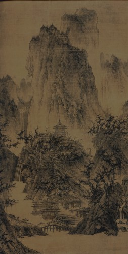 Li Cheng Buddhist Temple in the Mountains 919 967 song dynasty.jpg