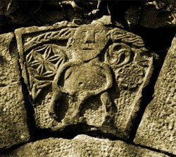 The Sheela na Gig at Ballinderry Castle near Tuam County Galway.jpg