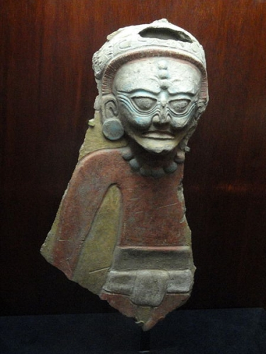 Ancien Dieu du Feu maya - Fragment - 900-1200 après JC - Site de Nebaj - Guatemala.JPG