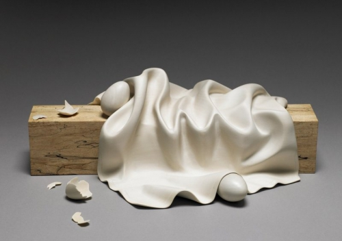 dan Driscoll egg and linen study #2 carved basswood Bleached.jpg