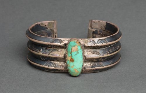 Bracelet dineh (navajo) - entre 1920 et 1930jpg.jpg
