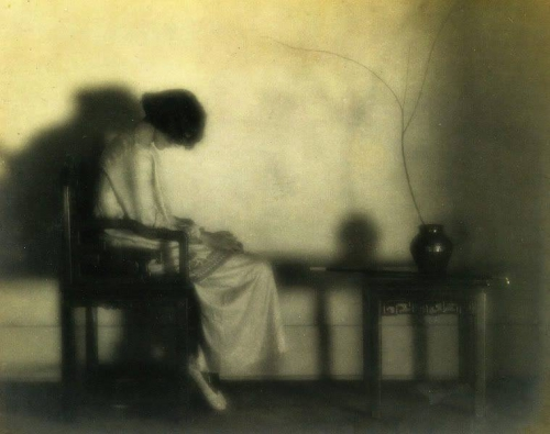 Margrethe Mather • Maud Emily Taylor seated in a Chinese chair, c. 1918_n.jpg