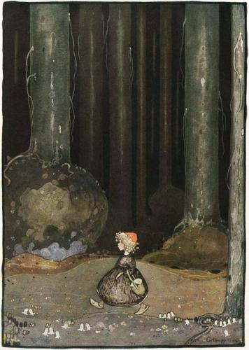 Gustaf Adolf Tenggren petit chaperon rouge.jpg