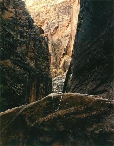 John pfahl-Canyon Point, Zion National Park, Utah 1977.jpg
