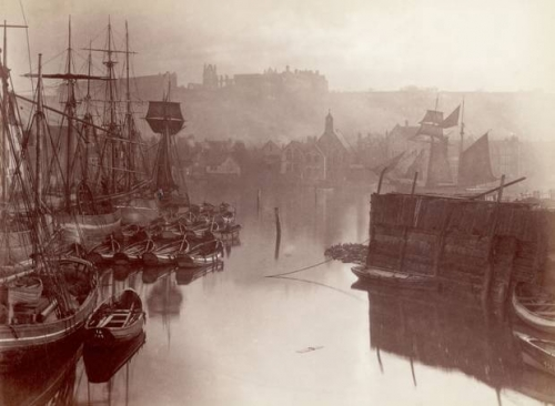 Frank Meadow Sutcliffe - Waterfront Whitby.jpg