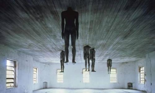 Antony Gormley, Learning to Think (1991).jpg