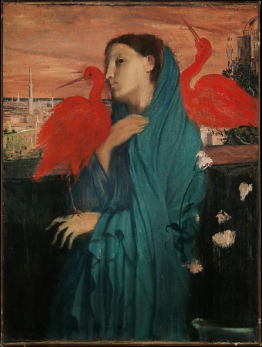 Edgar Degas Young Woman with Ibis.jpg