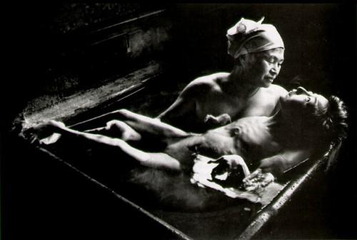W. EUGENE SMITH. Tonwko in Her Bath, Minamata, Japan, 1972. .jpg