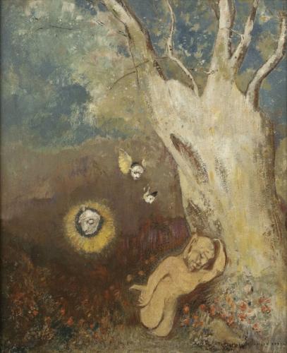 Odilon Redon Sommeil de Caliban, entre 1895 et 1900.png