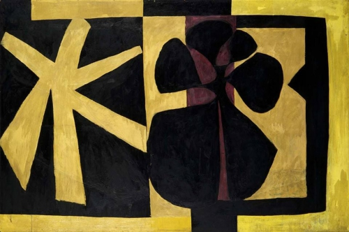 Robert Motherwell, Wall Painting IIIn.jpg