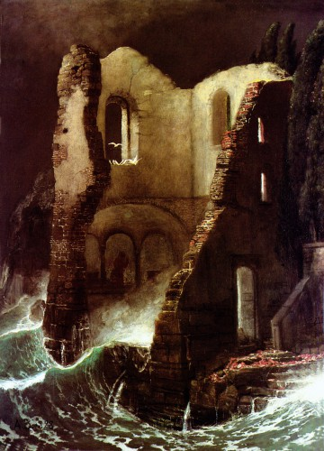 Arnold Böcklin the-chapel-1898.jpg