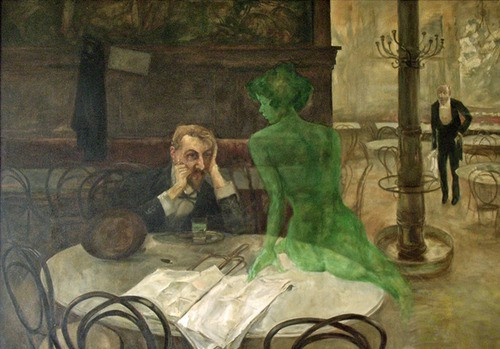 Viktor Oliva The absinthe drinker.jpg