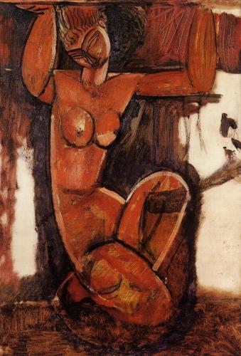 Amedeo Modigliani - Caryatid, 1912.jpg