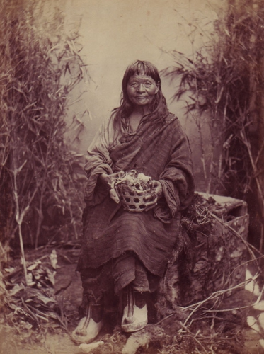 Himalayan woman identified as The Witch of Ghoom.jpg
