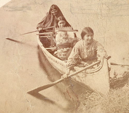 Chippew Women Canoe - Zimmerman.jpg