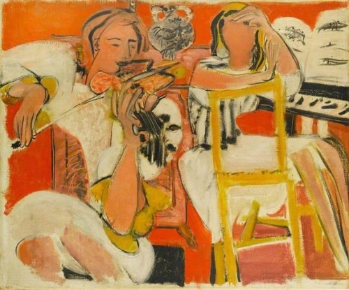 Ceri Giraldus Richards Two Musicians - , 1954.jpg