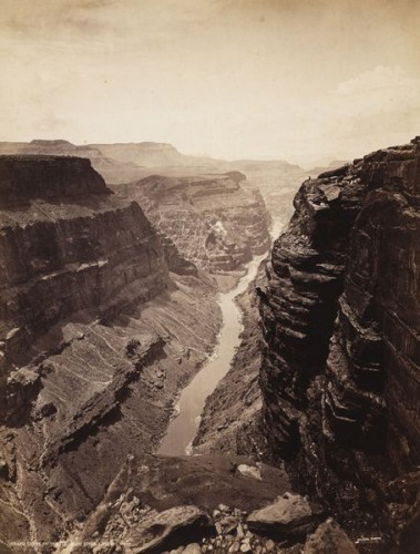John K Hillers Grand canyon 1870.jpeg