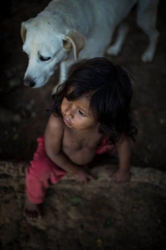 R.U.A Foto Coletivo_A child of Guarani community at Tekoa Itakupe, Jaragua. août 2017.jpg