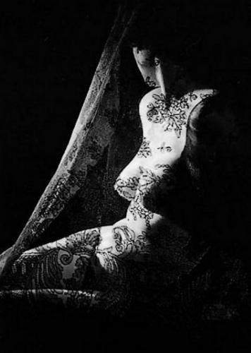 Marcel G. Lefrancq – Nu à la dentelle, 1955.png