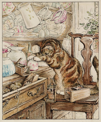 Beatrix Potter Simpkin Housekeeping 1902.jpg