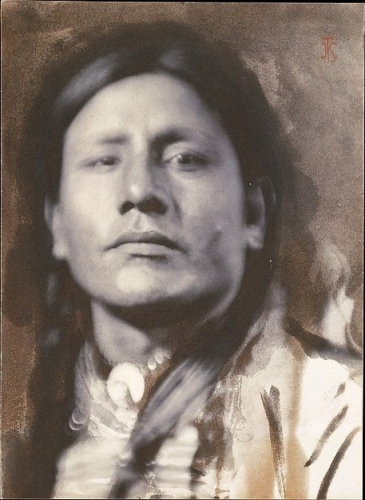 Joseph Turner Keiley, Sioux Chief, 1898pg.jpg