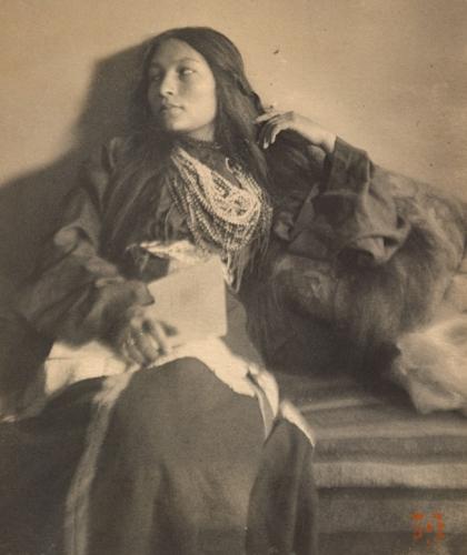 Joseph T. Keiley (1869–1914), Zitkala-Ša or Gertrude Simmons Bonnin ....jpg