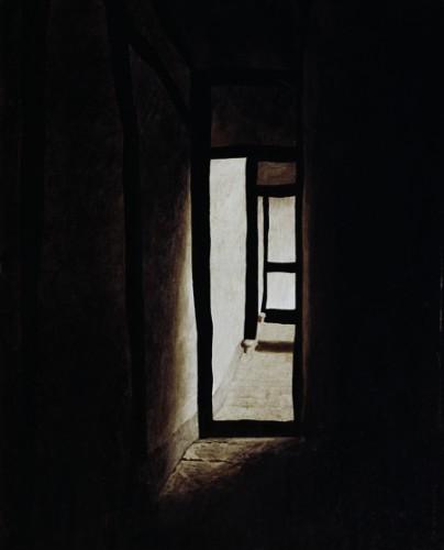 Wang Huaiqing, Chinese, born 1944  ForgottenGarden 1986-89.jpg
