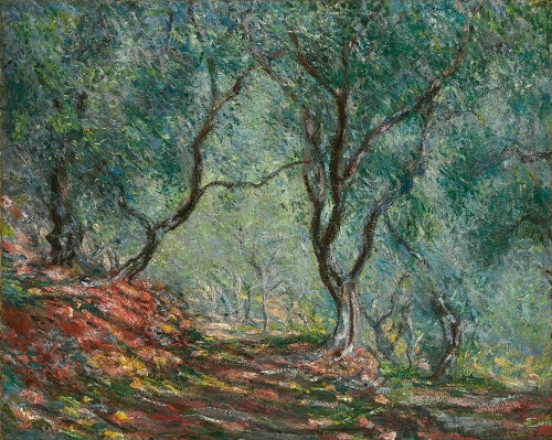 Claude Monet - Bois d'oliviers au jardin Morenoo.jpg