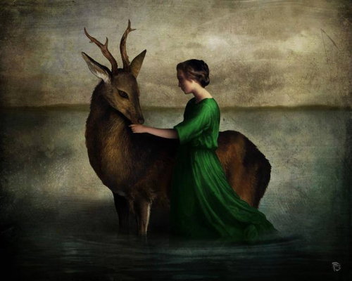 Christian Schloe-the beloved deer.jpg
