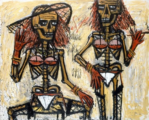 Bernard Buffet squelettes-travestis-buffet-1998.jpg