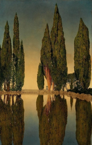 Maxfield Parrish The Reservoir at Villa Falconieri, Frascati, 1903_n.jpg