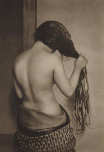Yasuzo Nojima – Nude from Rear, 1930.jpg