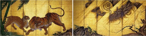 Kanō Sanraku Tigres_et_dragons .jpg