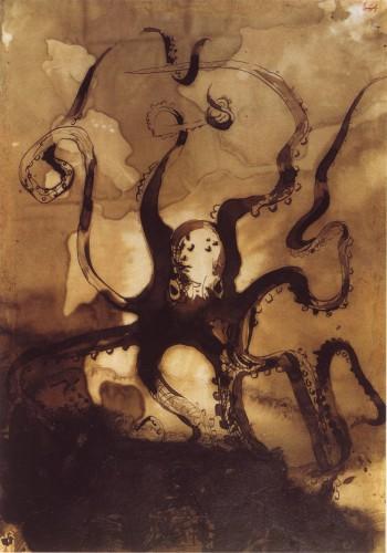 "victor hugo La pieuvre  Illustration ""Les travailleurs de la mer"", 1866.jpg"
