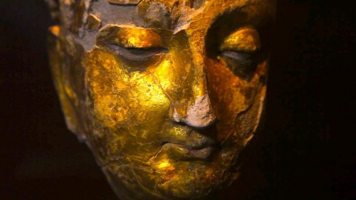 Ancient golden Buddha from Mes Aynak, Afghanistan..jpg