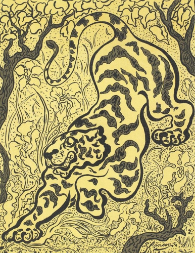 Paul Elie Ranson Tigre dans la jungles 1893.jpg