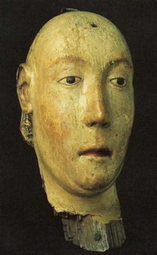 Anne de Bohême, reine d'Angleterre, tête de l'effigie funèbre.png