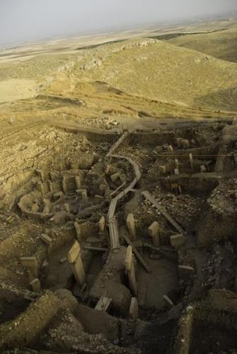 Göbekli Tepe Mésolithique province de Şanlıurfa, au sud-est de l'Anatolie, en Turquie,.jpg