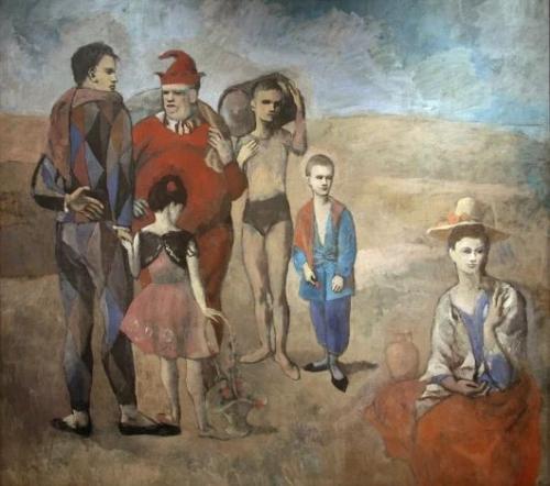 Pablo Picasso I Saltimbanchi, 1905t.jpg