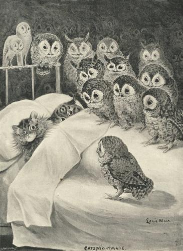 Cats' Nightmare ~ Louis Wain.jpg