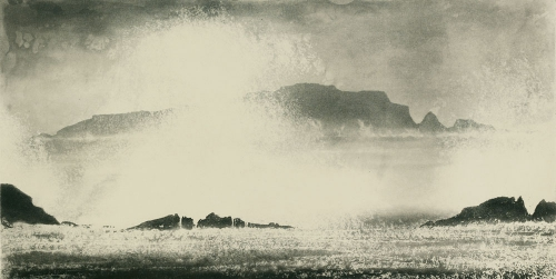 Norman Ackroyd High Island from Inishbofin Force Irlande 2007.jpg