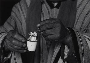 Flora GARDUnO~la bendicion isla del sol Bolivie 1990.JPG