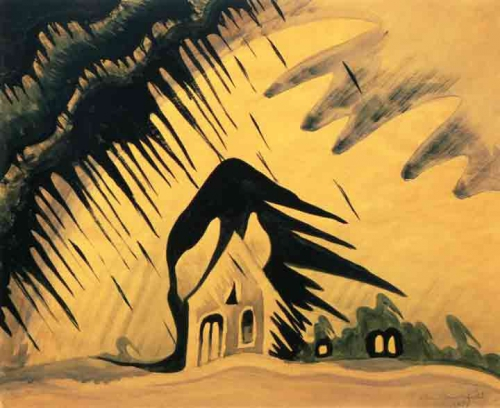 charles E. Burchfield-house-painting-the-east-wind-1918.jpg