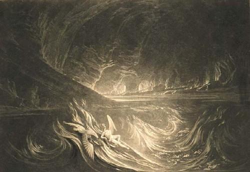 John martin  Satan rises from  the burning  lake.jpg