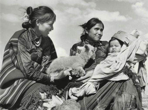 Hansel Mieth, Navajo Herders in New Mexico, 1941.jpg