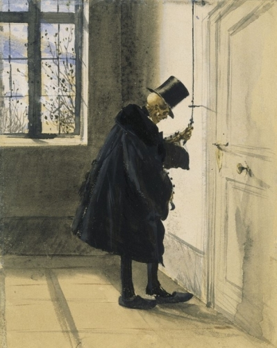 Adolph Menzel An Uninvited Guest (1844 .jpg
