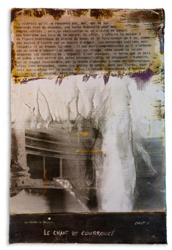 Nicolas Guyot série poème Lautréamont Chant-II-Le-chant-du-courroucé 2014.jpg