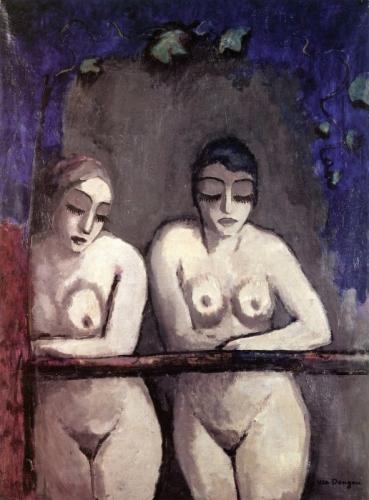 Kees Van Dongen Two Nude Women at the Window 1922.jpg