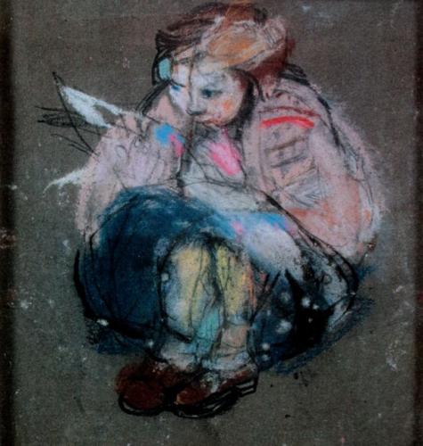 """Joan Eardley, """"Little Glasgow Girl,"""" c.1958.jpg"""
